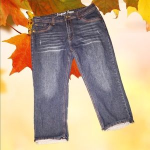 Denim - Jean Cropped Pants 👖
